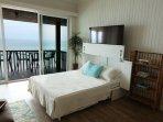 Queen Murphy Bed in Living Room - Sleep with Ocean Views!