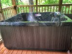Hot Tub (shown being installed)