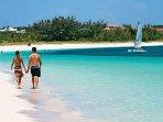 Take a walk on Grace Bay Beach