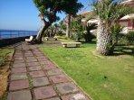 giardino sul mare