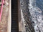 scala discesa a mare