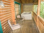 Back Porch Hot Tub