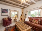 Two Casitas - Caballo - Home Away From Home with a Kiva Fireplace