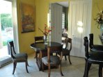 kitchen dining table. There is an additional large formal dining room in the great room