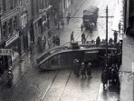 Capel Street 100 years ago, view from the very same building