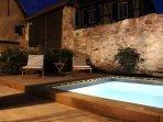 Espace partagé piscine