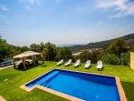 Catalunya Casas: Villa Sole Sant Feliu for 8 guests, just a short drive to Barce