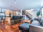 Great Open concept for entertaining...