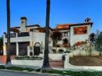 Dana Point Spanish style mansion just blocks from the beach.