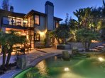 Incredible Dana Point modern home with pool and spa.
