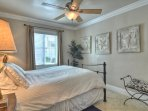 Ceiling fans in every room!