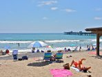 Or just lay down and enjoy the sun and sand. We know you'll love San Clemente!
