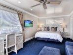 Second Master bedroom has full ocean views!