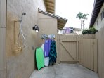 Unit A: outdoor shower and beach gear provided