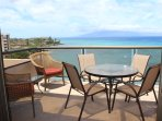 Sitting out on this beautiful lanai with your coffee or afternoon drinks.  See the sea turtles