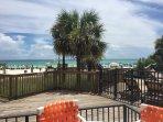 Bar high stools Peer out at Beach/pool