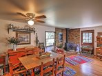 Enjoy spending time with loved ones at this darling dining room table.