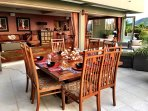Outdoor dining- Main level