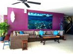 Bar area seating - Pool level