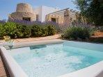 Villa salentina di charme a Pescoluse ,bellissima vista mare  a 1 km.dalla spiaggia ' le  Maldive '