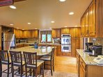 Prepare your favorite home-cooked meals in the fully equipped kitchen.