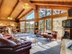 Riverfront home with gorgeous views