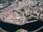 Vista Aérea Pontevedra Ciudad
