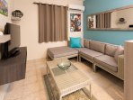A comfortable living room here at Costa Bela!