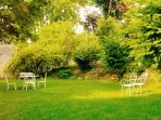 Appartement cosy avec agréable jardin privatif