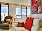 Relax in comfort in this beachfront vacation condo