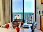 Dine with views of the Gulf of Mexico