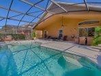 Pool & Spa at House of Orange at Watersong Resort