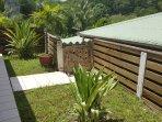 Jardin privatif pour chaque bungalow