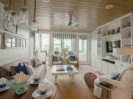 Completely Renovated Open Concept Living Room