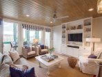 Living Room has LED TV