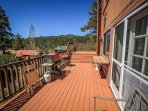Deck and BBQs on Second Level Deck