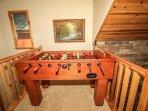 Foosball Table in loft