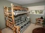 Bunk set (lower bed is full) bedroom 3