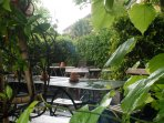 Enjoy a beer in the garden of Smokehouse gastro-pub.