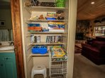 Games in Hallway Closet