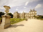 The Senat in the Luxembourg Garden