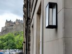 View from front door of Edinburgh Castle