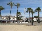 Playa Prat de'n Forés (la principal de Cambrils)