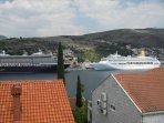 The Gruž Port - view