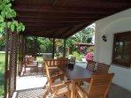 Enjoy your meals on tne terrace