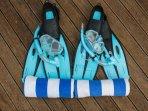 Free snorkel gear provided