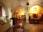 Character, romantic  'snug' set in the trullo  - with hifi, flat screen TV, docking ports