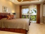 The Master suite is located on the second floor and has it's own private lanai facing west.