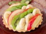 Homemade fruit tart