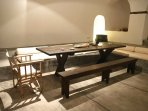 The dinning table